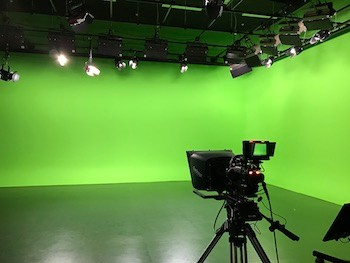 Lights Camera Action High Tech Tv Studio Ready For