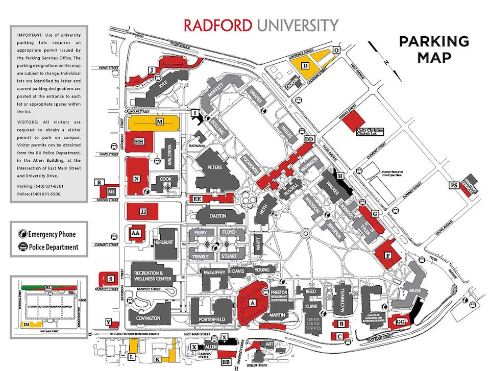 Admissions moves to Russell Hall | Radford University