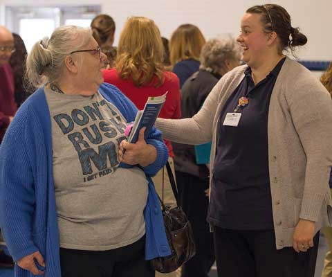 New River Valley Senior Health Fair action
