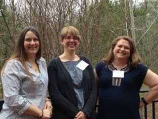 RU DNP students who won VCNP student research awards.