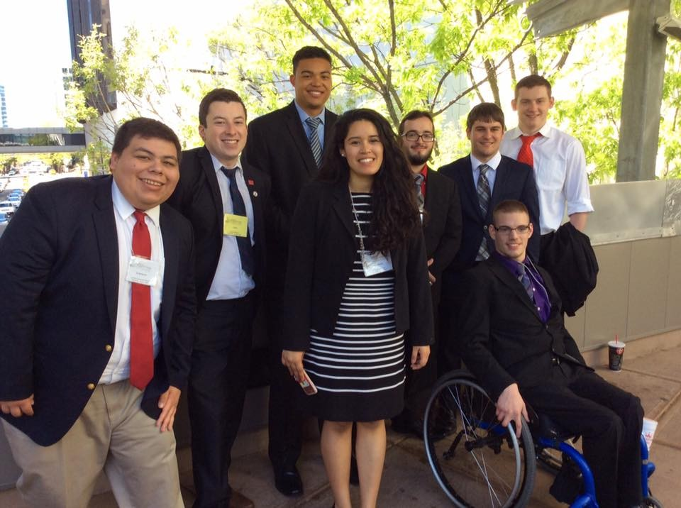 The Radford University Model United Nations club