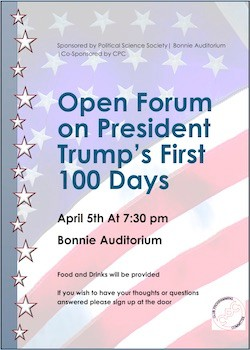 100 Days Open Forum