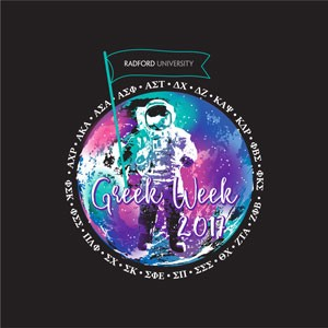 "Greek Week 2017 is themed ""Galaxy/Outer Space."""