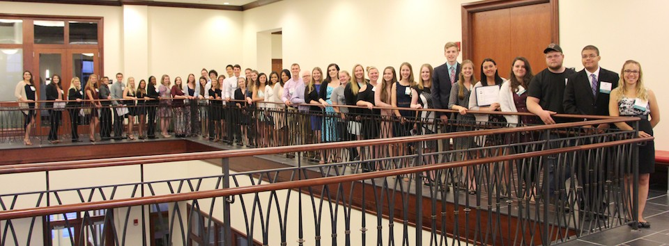 Community Foundation of the New River Valley's scholarship recipients