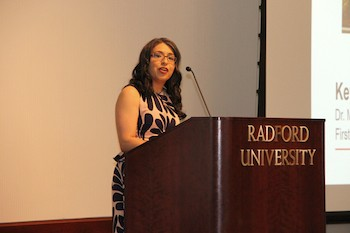 Radford University First Lady Marisela Rosas Hemphill