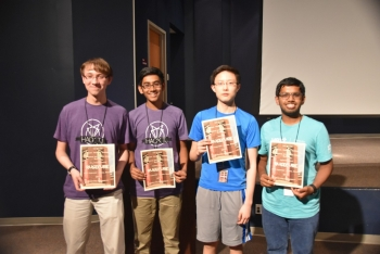 RUSecure 2017 Champions: Thomas Jefferson High School for Science and Technology