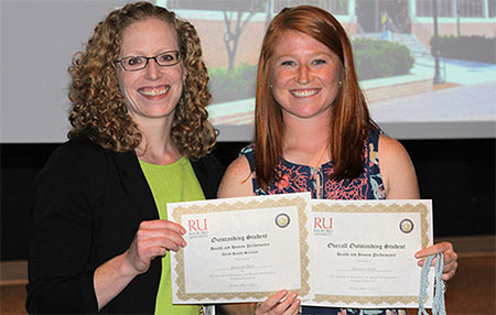 The College of Education and Human Development presented awards to many of its students during a ceremony May 5.