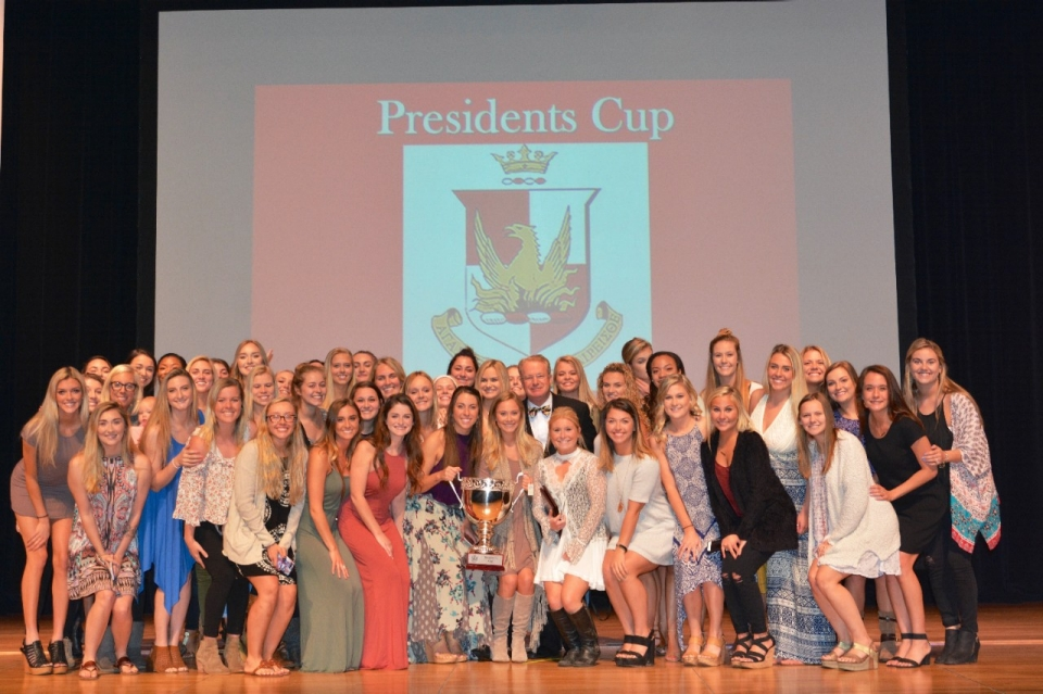 Alpha Sigma Alpha won the 2017 President's Cup.