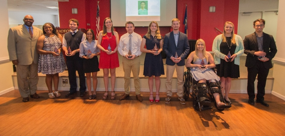 The 2017 Outstanding Student Award Winners