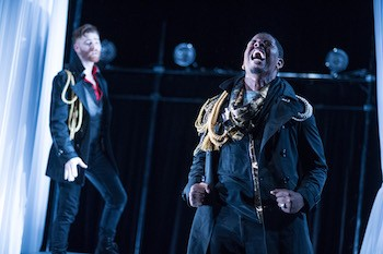 "Production photograph of ""Othello."" Photo courtesy of National Players."
