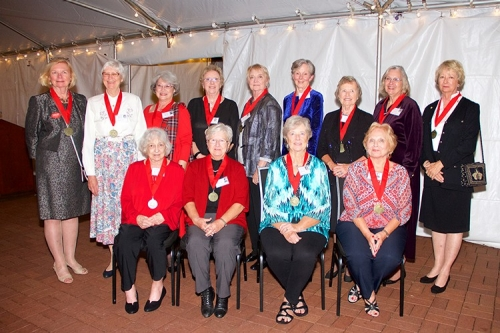 Members of the Class of 1967 gathered at the Governor Tyler House to celebrate their Golden Reunion.