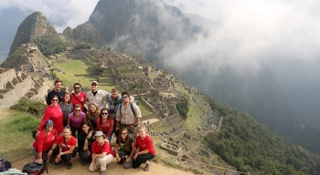 This year's RARE expedition included a trip to Machu Picchu.