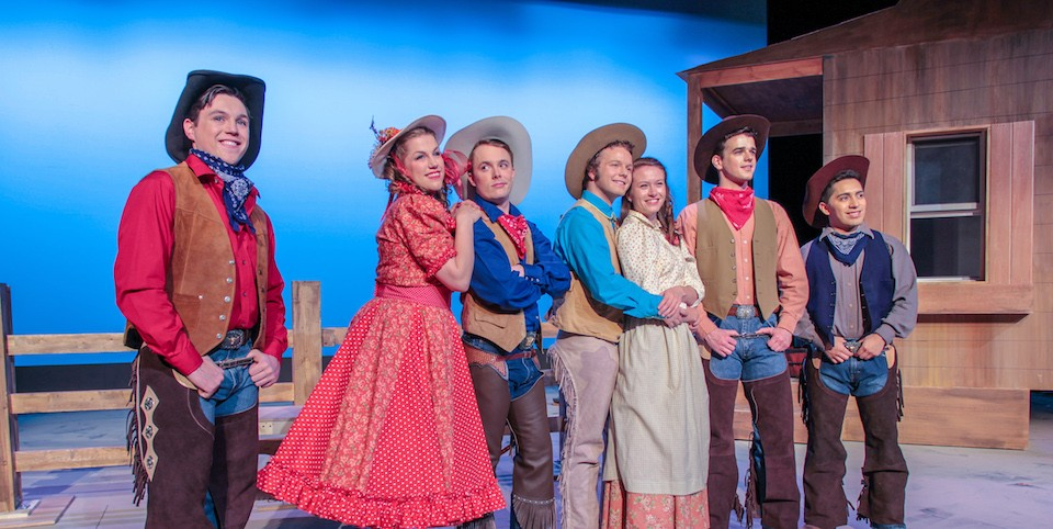 "The cast of ""Oklahoma!"""