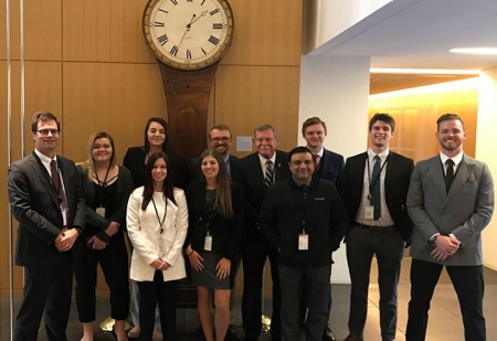 SMIPO colleagues journeyed to New York City in late March to participate in an annual financial forum for college students. They also had an opportunity to network with successful alumni and tour some of the city's financial landmarks and institutions.
