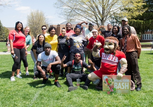 Radford University students, faculty and staff gathered together for the Spring Bash on Wednesday, April 18.