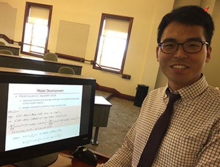 Jaehwan Jeong is a problem solver. For the past three years, the Radford University assistant professor of management has been working on problems that once were thought to be practically impossible to solve.