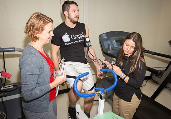 "The human heart has always fascinated Laura Newsome. ""So, I keep studying it,"" said the Health and Human Performance Associate Professor, who transitioned from a career as a cardiopulmonary therapist to teaching exercise physiology at Radford University."
