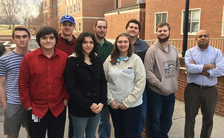 Radford University's Cyber Defense Club has qualified for a spot in the regional finals of the Mid-Atlantic Collegiate Cyber Defense Competition.