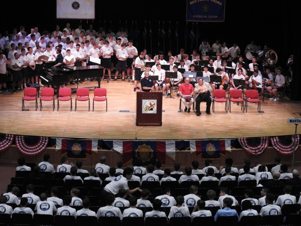 Radford welcomes 76th session of Boys State of Virginia   Radford