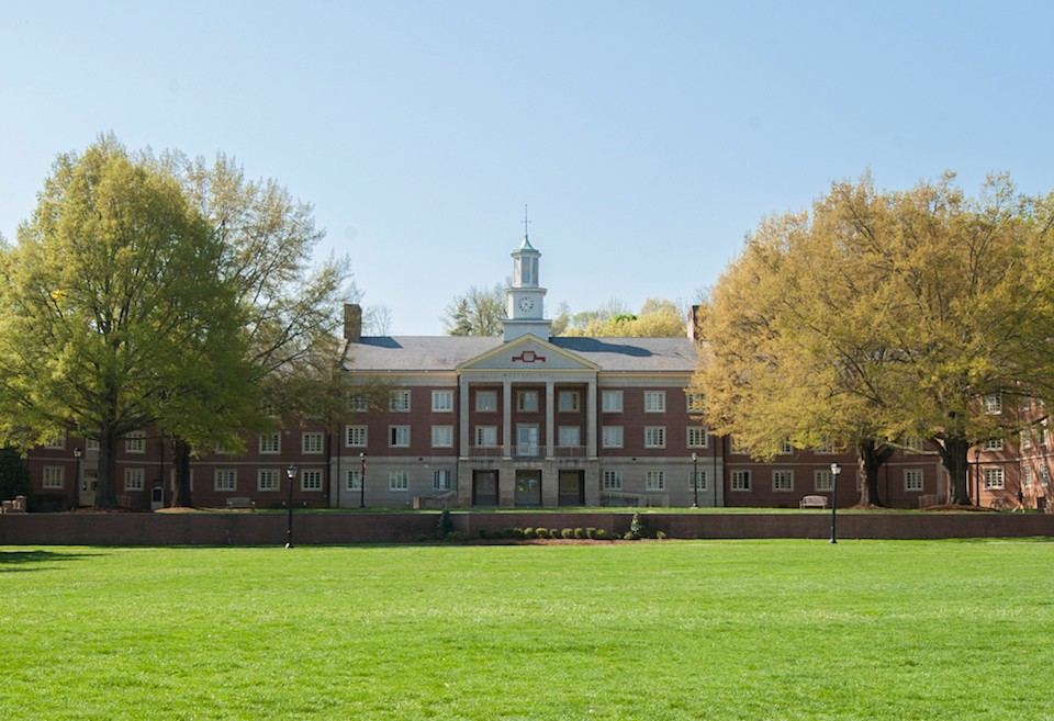 Moffett Hall, where the ELC will be located.