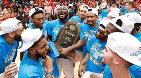 The Radford University men's basketball team is going to the NCAA tournament after a thrilling, buzzer-beating conference championship win Sunday at the Dedmon Center. The Highlanders' story has been captured by numerous media outlets.