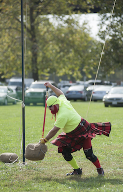 The Raisbeck Games at the Radford Highlanders Festival