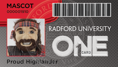 The Radford University ONE Card