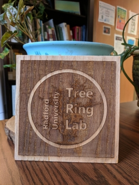 Tree ring lab sign