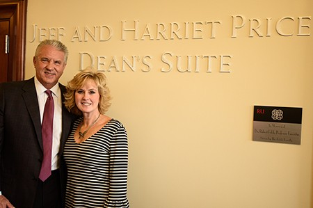 Davis College Dean's suite named for Price