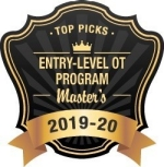 Top picks entry level OT program Master's 2019-20