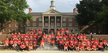 The Summer Bridge Program at Radford University encourages, empowers and inspires young women from across the United States to pursue degrees and careers in STEM (science, technology, engineering and math) fields.