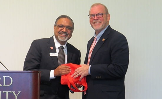 U.S. Congressman Morgan Griffith served as guest speaker Nov. 7 at the Davis College Business and Economics Global Capitalism Lecture Series, sponsored by BB&T.