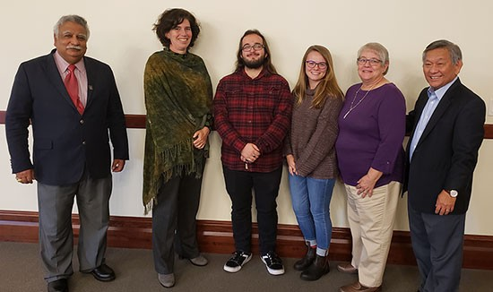 Radford University students and faculty members convened Oct. 16 for a World Food Day panel discussion that examined an important issue that touches significant portions of the world's population: The role diet and nutrition play in achieving zero hunger.