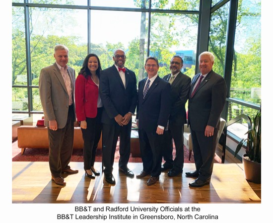 Radford University, BB&T establish leadership development program