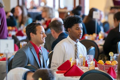 The Partners in Excellence luncheon brought together and honored scholarship benefactors and student scholarship recipients from across campus.