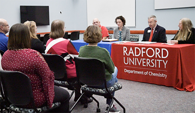 New academic pathway for NRCC chemistry students at Radford