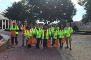 SGA adopt a spot clean up oct.2