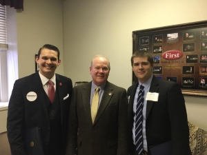 Virginia 21 Meeting with State-Senator Benton Chafin