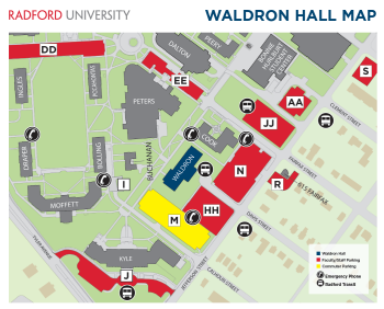 waldron-hall-map